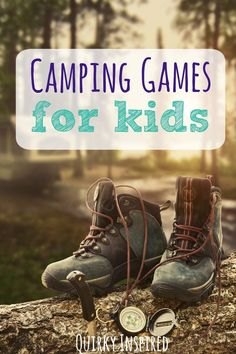 Need to keep the kids entertained? Check out 55+ camping games for kids. These are some of our favorite camping games and outdoor games to keep the kids busy during our camping trips!