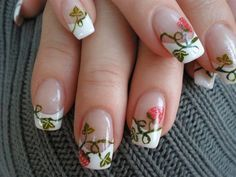 vines nail art - Google Search