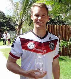 Manuel Peter Neuer. The SuperManu