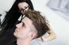 GMALE  Men's fashion blog - Men's hairdresser project Hairstyle, Men's hairstyle, Hairinspiration