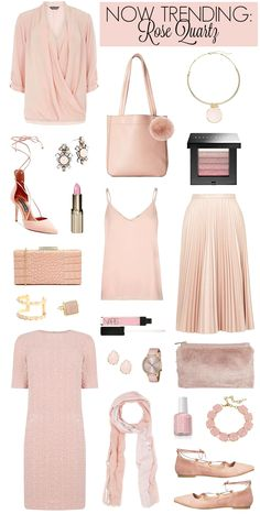 Penny Pincher Fashion: Rose Quartz - This cool shade pairs well with dove gray or taupe, marsala, pale lilac & classic navy.