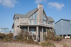 Ireland Parish: 4 Bedroom, 3 Bath - Hot Tub - Pet Friendly - Oceanfront - Salvo NC