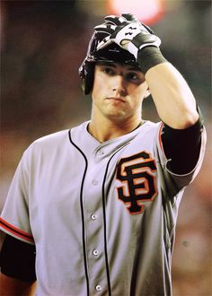 Joe Panik...cutie! He doesn't play for the team that I root for, but this guy is very nice to look at!