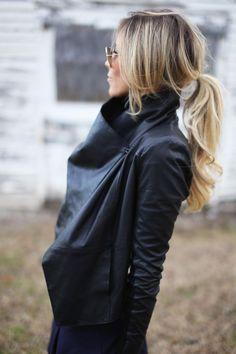 Prachtige paardenstaarten! 17 trendy kapsels voor lang haar!