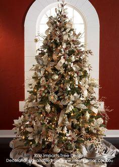 garden themed christmas tree - Google Search