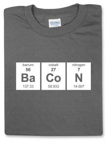 we have chemistry, bacon and i. that's what makes this relationship work SO well.