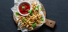 Paleo, Whole30, and nightshade-free, these baked parsnip fries are the perfect side dish for any seasonal autumn entree.
