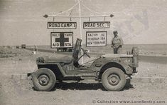 Wartime Jeeps | Jeep in the Persian Gulf in World War II.
