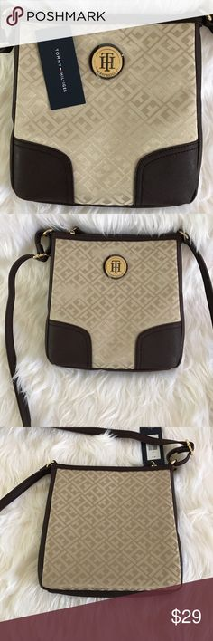 ‼️ new with Tags ‼️ Tommy Hilfiger Crossbody ‼️ Gold beige brand new Tommy Hilfiger Crossbody. Tommy Hilfiger Bags Crossbody Bags