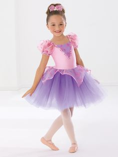 Princess Party - Style 529 | Revolution Dancewear Children's Dance Recital Costume