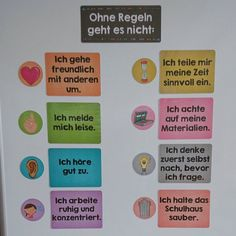 Nachdem euch die Plakate mit den Klassenregeln so gut gefallen haben habe ich s The Effective Pictures We Offer You About Education Level student A quality picture can tell you many things. Primary School Teacher, Class Teacher, Primary Education, School Classroom, Elementary Schools, Classroom Activities, Physical Education, Special Education, Classroom Organisation