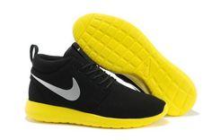 huge selection of 7dce7 f35aa Roshe Run Mid Suede Olympische Spelen in Londen Nike Damesschoenen Verkoop  In Nederland  Zwart