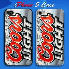 Coors Light Can Custom iPhone 5 Case Cover