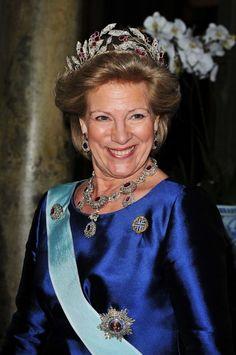 Wedding Of Swedish Crown Princess Victoria %26 Daniel Westling: Banquet - Inside