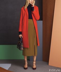 How to Refresh Your Work Wardrobe in 7 Simple Steps from InStyle.com - live this color combo!
