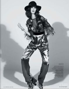 Rock in L'Officiel France with Ruby Aldridge - (ID:31636) - Fashion Editorial   Magazines   The FMD #lovefmd