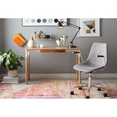 You'll love the Halesworth Writing Desk at AllModern - With Great Deals on modern Office Furniture products and Free Shipping on most stuff, even the big stuff.