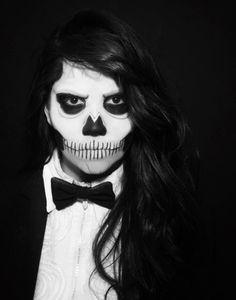 Zombie girl Zombie Girl, Halloween Face Makeup
