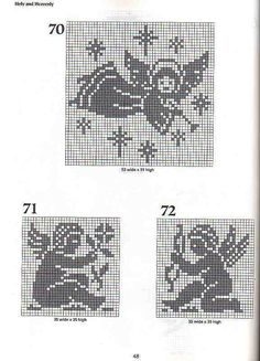 All sizes | 101 Filet Crochet Charts 48 | Flickr - Photo Sharing!