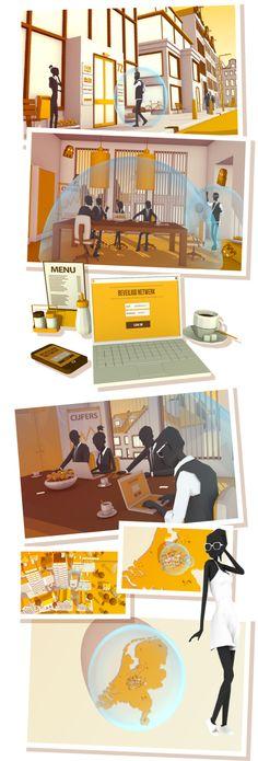 Alertonline.nl by Erwin Bijlsma, via Behance