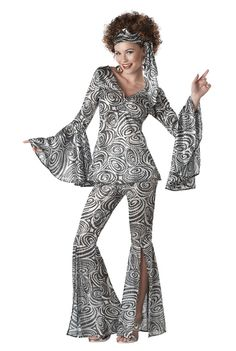 Retro Fashion For Women In 70s 80s S Costumes For Women Brand