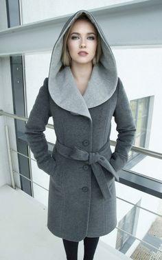 7d501fbc5467 Damen Mantel, Winter Mantel mit Kapuze Mantel Mit Kapuze, Stulpen, Kleider  Nähen,