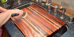 So you've used your cutting board to cut food. Foods on cutting boards are often raw, and raw food can be contaminated. Once the board has been co…