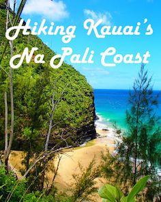 Travel the World: Hiking Kauai's Na Pali Coast along the Kalalau Trail to Hanakapi'ai Falls and the Pihea Trail to Alaka'i Swamp. Kauai Hawaii
