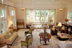 New York Traditional Family Estate - traditional - Family Room - New York - Frank de Biasi Interiors