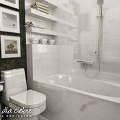 Projekt domu Wróbel - wariant A - Dom Dla Ciebie Bathtub, Bathroom, Home Plans, Standing Bath, Bath Room, Bath Tub, Bathrooms, Bathtubs, Bath
