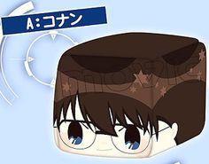 Face Cube Plush A Conan (Anime Toy)