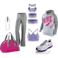 Workout Time, created by carolineclarkscott on Polyvore