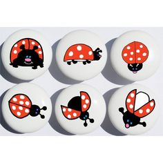 Rock Painting Patterns, Rock Painting Designs, Painted Rocks Craft, Hand Painted Rocks, Pebble Painting, Stone Painting, Ladybug Rocks, Ladybugs, Rock Crafts