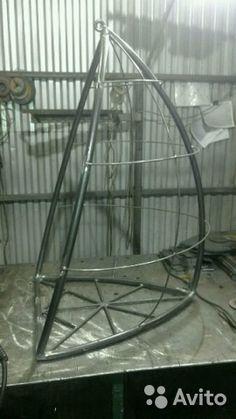 """Подвесное кресло для отдыха на даче.""""зерно отдыха""""— фотография №2"""