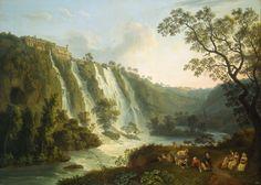Maecenas' Villa at Tivoli, 1783  Jacob Philipp Hackert ( 1737-1807)