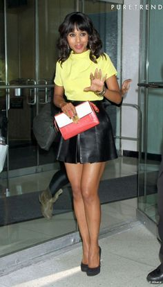 Kerry Washington Hot | Kerry Washington, super sexy dans les rues de New York.
