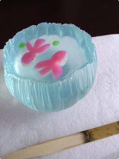 """Japanese Sweets """"wagashi"""", Goldfish_Bowl"""