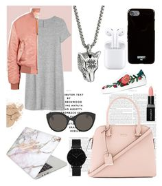 """Every day"" by kate-n-0000 on Polyvore featuring мода, Gap, Acne Studios, Kate Spade, Recover, Gucci, Givenchy, Apple, Smashbox и CLUSE"