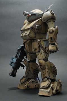 Painted and remade by 刀鋒冷 Source via Hong Kong Model League