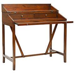 Derby Dark Walnut Writing Desk