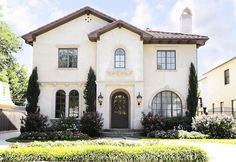 Great spanish style house and landscaping