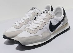 The Nike Air Pegasus White/Anthracite is a great option for any sneaker rotation, even though it was released thirty years ago. Nike Air Pegasus, Nike Sportswear, Kicks, Sneakers Nike, Footwear, Casual, Shoes, Shoe Rack, Style