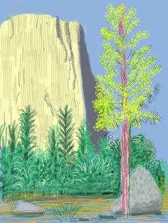 David Hockney The Yosemite Suite