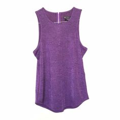 Armani Exchange tank Nice material. Zippered design on back. Loose type of tank. Xsmall can also fit a small or medium. Armani Exchange Tops Tank Tops