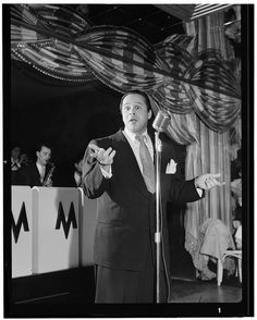 William Gottlieb - Portrait of Miquelito Valdez, New York, N.Y. (1946-48)