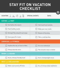 Tips For a Fitter, Happier Summer Vacation