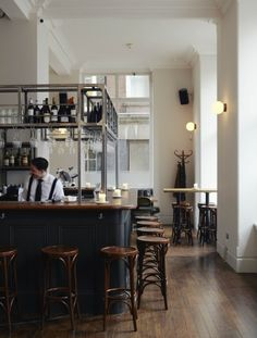 elorablue:The Clove Club London Restaurant - Remodelista