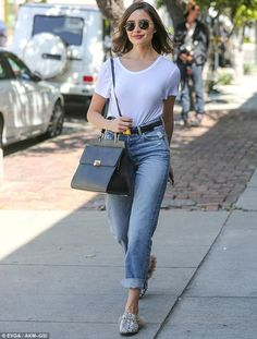Treat your feet to Olivia's fur-lined Gucci loafers #DailyMail  Click 'Visit' to buy now