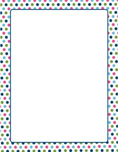 6 Best Images of Polka Dot Template Printable - Polka Dot Pattern Stencil, Polka Dot Paper Printable Template and Printable Polka Dot Borders Christmas Letter Template, Letter Templates, Free Printable Stationery, Printable Paper, Printable Border, Dot Letters, Frame Border Design, Polka Dot Paper, Polka Dots