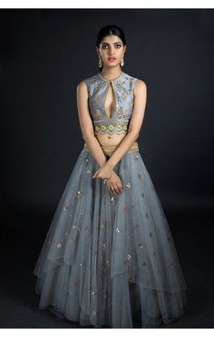 Bridal outfits shows the happiness of a bride, buy the latest designer Lehengas by top designers anushree reddy, jayanti reddy and more at coutureyard. Indian Dresses, Indian Outfits, Choli Dress, Lehenga Designs, Bridal Outfits, Indian Designer Wear, Bollywood Fashion, Blouse Designs, Dress Designs